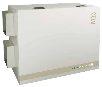 A 201 Romatic 8220 Light Commercial Energy Recovery Ventilator